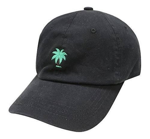 City hunter c104 palm tree gorra de beisbol de algodon de ve