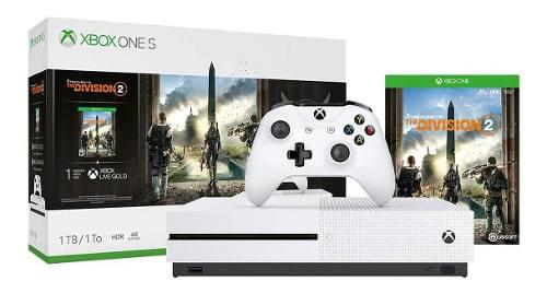 Consola xbox one s 1tb the division 2 tom clancy's nuevo