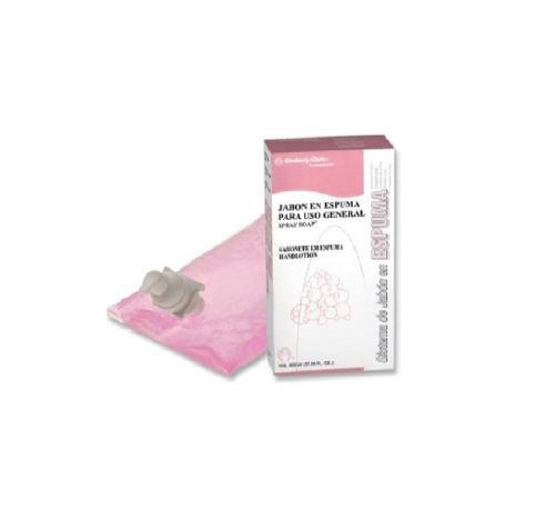 Jabón en espuma cartucho 800 ml marca kimberly clark 92526