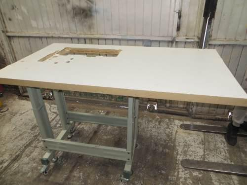 Mesa de trabajo costurera para maquina de coser industrial