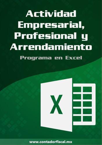 Programa contabilidad act. empresarial, prof. y arrend. 2020