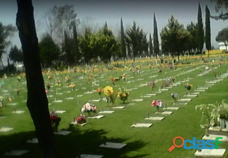 Lote fuenrario 4 gavetas Panteón Jardines de Oriente Texcoco EdoMex