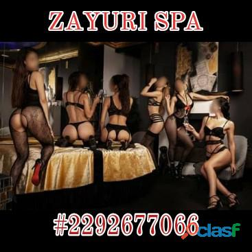 Zayuri Spa... Chicas Traviesas 24 HORAS dando placer...