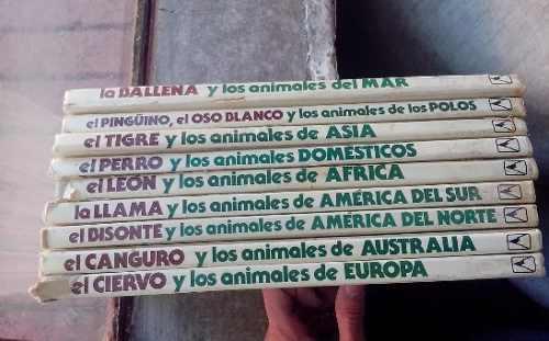 Colección animales de la tierra- editorial everest 1985