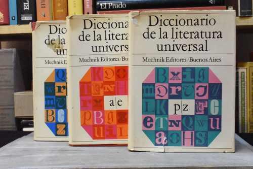 Diccionario de la literatura universal 3 vol. - pla [coyote]
