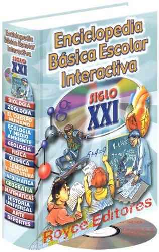 Enciclopedia básica escolar interactiva siglo xxi
