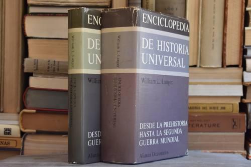 Enciclopedia de historia universal 2 tomos - langer [coyote]