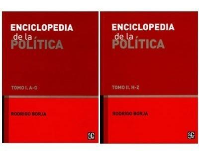 Enciclopedia de la política tomo 1 y 2 / 4a ed. 2012