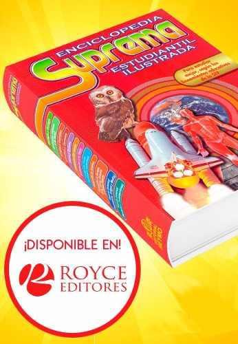 Enciclopedia suprema estudiantil ilustrada con cd-rom