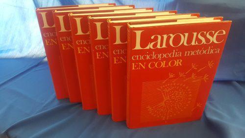 Larousse enciclopedia metodica en color (6 tomos)