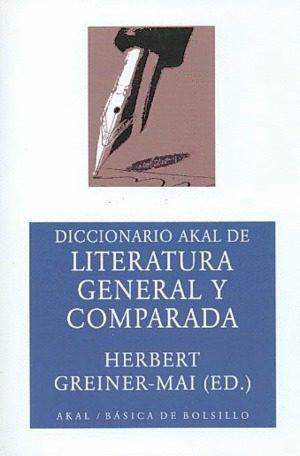 Literatura general y comparada: dicciona