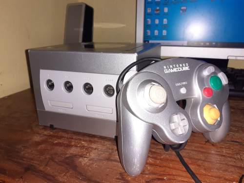 Nintendo gc, game cube,sd 64gb con juegos, control original