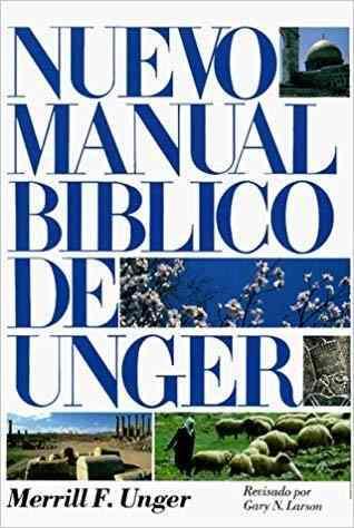 Nuevo manual bíblico de unger - tapa dura