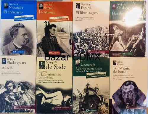 Paquete lote de 8 libros literatura universal nuevos