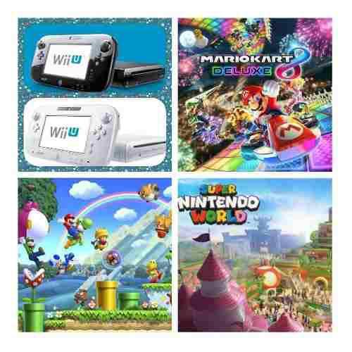 Wii u 350 juegos+5000 clásicos,wii,gamecube, nes, snes y