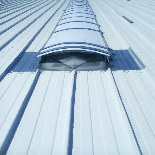 Cambio laminas traslucidas reparacion domos