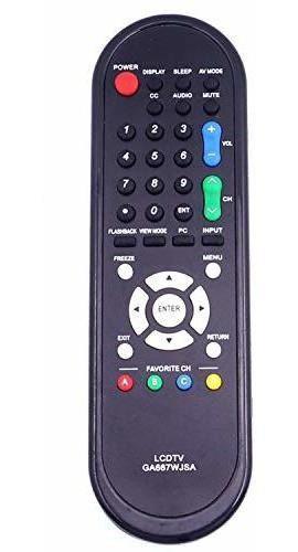Nuevo ga667wjsa control remoto apto para sharp lcd led tv lc