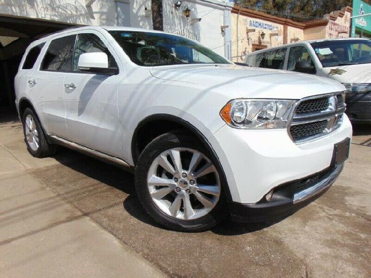 Dodge durango crew luxe 2013