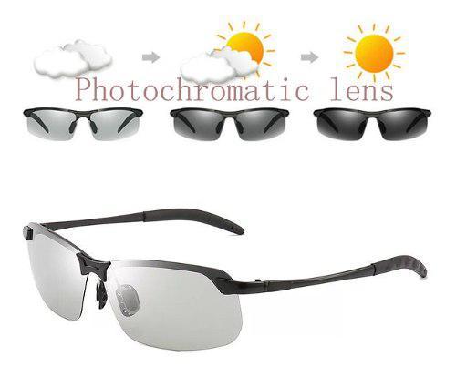 Gafas de sol fotocromáticas polarizadas p/día/noche