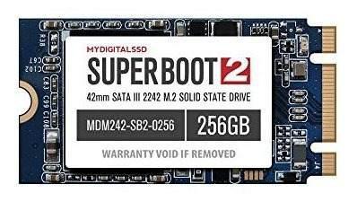 Mydigitalssd 256gb super boot 2 sb2 42mm m2 2242 ngff sata i