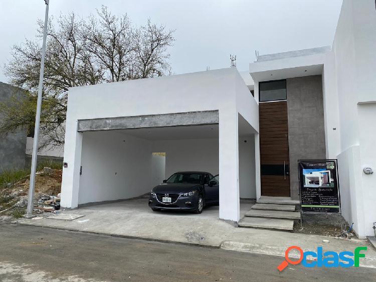 Casa sustentable venta nueva cumbres de santiago carretera nacional santiago nl