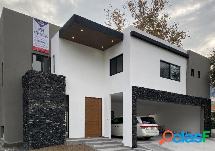 Casa en venta la noria residencial carretera nacional sanatiago nl