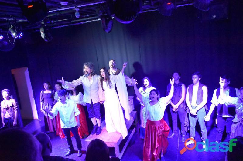 Cursos/clases escuela de actuacion teatro cato baile unica c/35 años de fama internacional