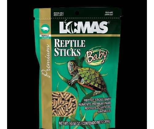 Alimento para tirtuga reptile sticks baby 300 gramos.