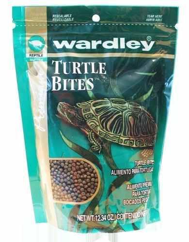 Alimento para tortugas turtle bites 350 grs