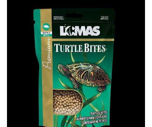 Alimento para tortugas turtle bites 90 gramos