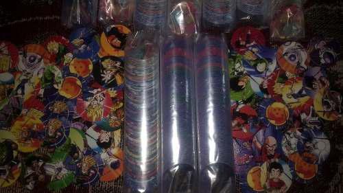 Colección tazos dragón ball xferas