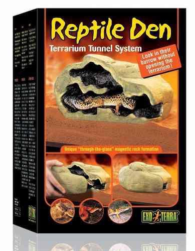 Escondite para reptiles exo terra reptile den tamaño
