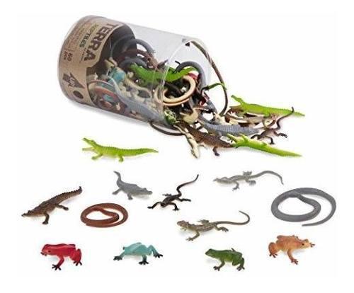 Figuras de animales salvajes battat terra reptiles