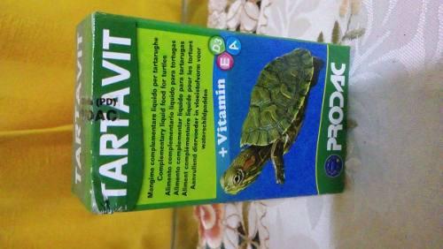 Prodac tartavit 30 gr vitamina tortugas reptiles