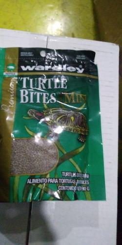 Wardley mini turtle bites 90 grs alimento tortugas