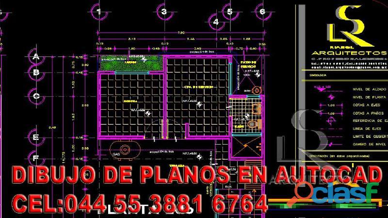 Autocad 2d 100% practico en cdmx, clases privadas de autocad $200 pesos