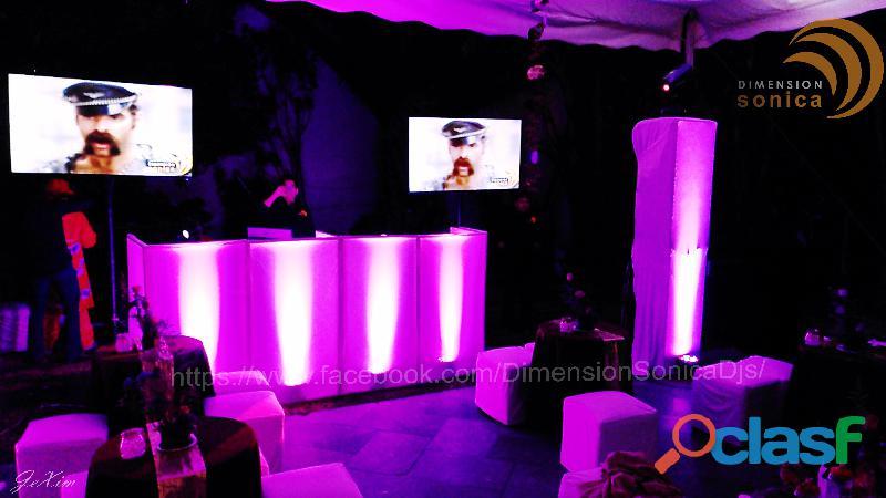 Renta de djs, karaoke, fiestas caseras