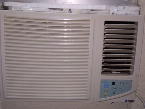 Aire acondicionado york unidad tipo ventana ycusc24-6r 2tons