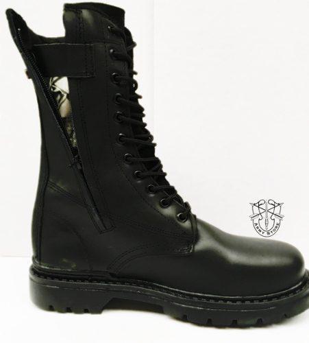 Botas altas piel/cierre armystore envió gratis