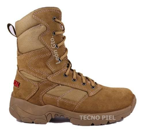Botas tacticas octactical color coyote koyote piel altas