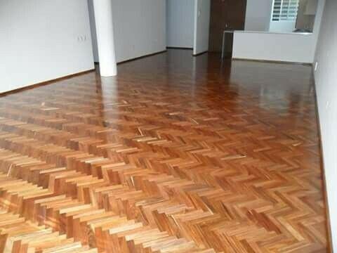 Mantenimiento a pisos de madera