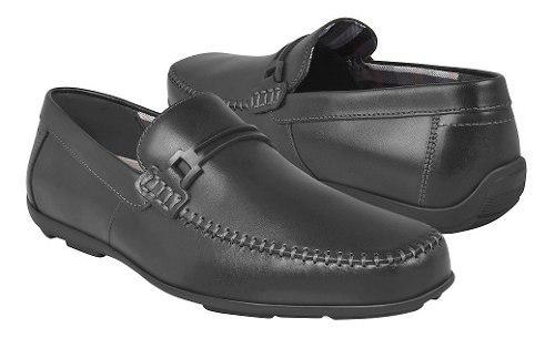 Zapatos de vestir para caballero flexi 68614 negro