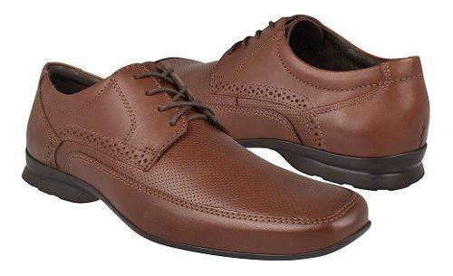 Zapatos de vestir para caballero flexi 79505 café