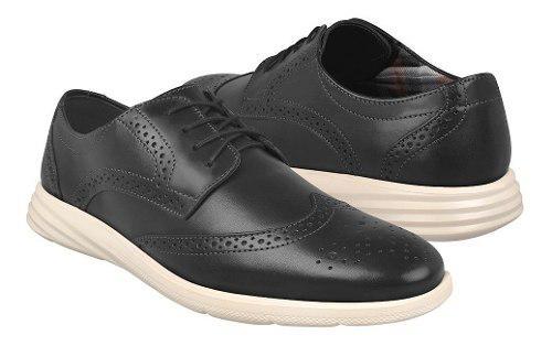 Zapatos de vestir para caballero flexi 95605 negro