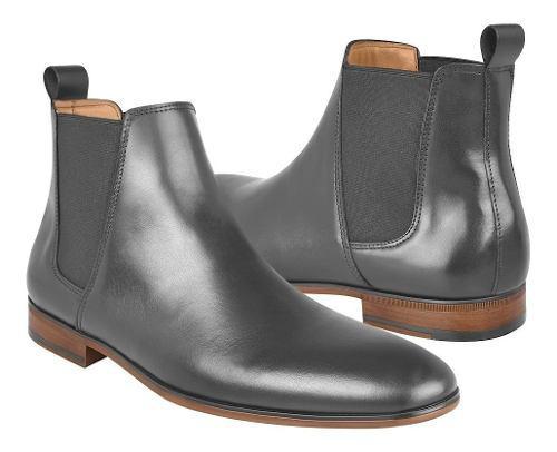 Zapatos de vestir para caballero stylo 263 piel negro