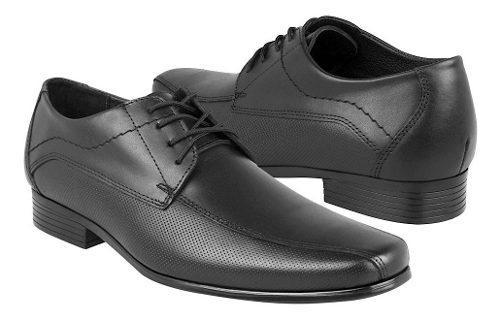 Zapatos de vestir stylo para caballero piel negro 305
