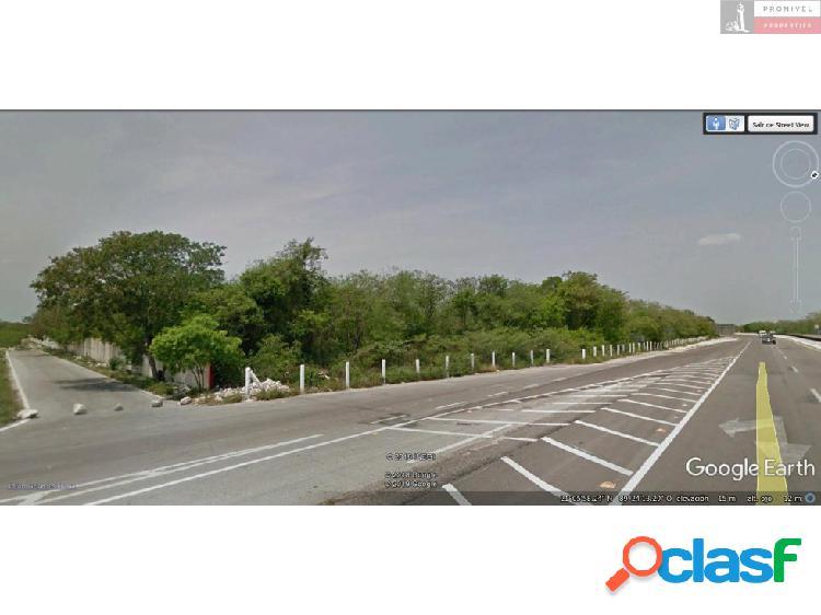 Terreno en venta en Mococha, Yucatán 1