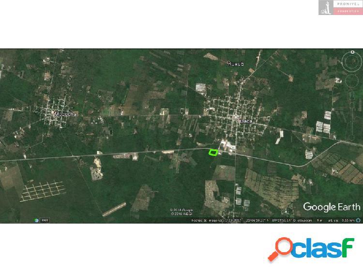 Terreno en venta en Mococha, Yucatán 3