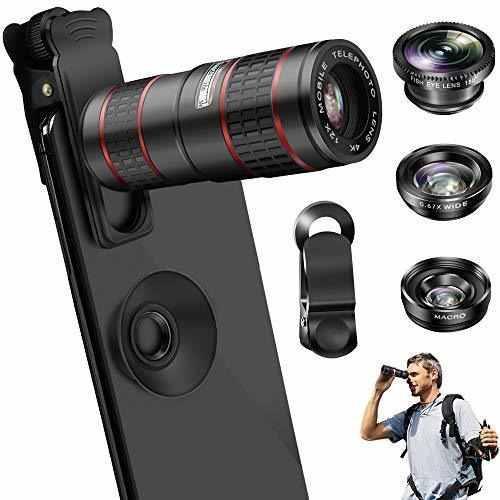 Lente de la cámara del teléfono, oyrgcik kit de lentes de