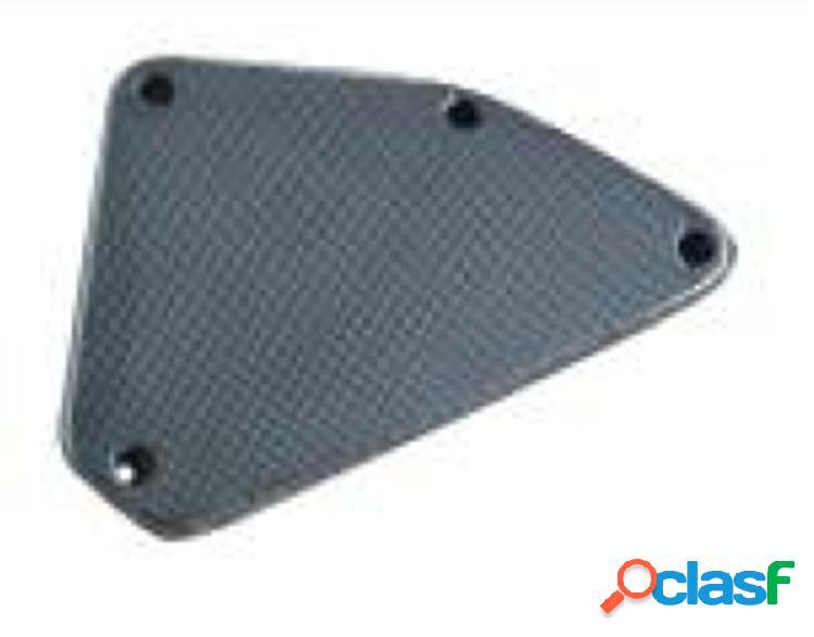 Carenado lateral (2 incluidos) de fibra de carbono, trasero. motos ktm duke 690 2012.